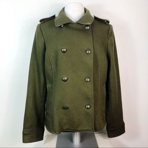Banana Republic Military Double Breasted Coat XL